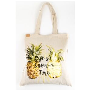 Bags - Pineapple It's Summer Time Beach Tote Shoulder Bag